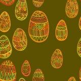 σχέδιο με το σχέδιο έλλειψης αυγών Στοκ εικόνα με δικαίωμα ελεύθερης χρήσης