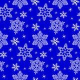 Σχέδιο με snowflake Στοκ φωτογραφίες με δικαίωμα ελεύθερης χρήσης