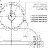 Σχέδιο μηχανολόγου μηχανικού Στοκ φωτογραφία με δικαίωμα ελεύθερης χρήσης