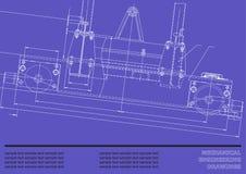 Σχέδιο μηχανολόγου μηχανικού Στοκ Εικόνες