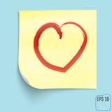 Σχέδιο μορφής καρδιών για τα σύμβολα αγάπης sticker σχέδιο σύγχρονο Στοκ Εικόνα