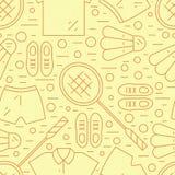 Σχέδιο μπάντμιντον απεικόνιση αποθεμάτων