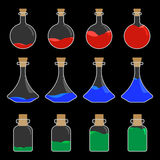 Σχέδιο μπουκαλιών φίλτρων Στοκ Φωτογραφία