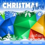 Σχέδιο μωσαϊκών Χριστουγέννων Στοκ φωτογραφία με δικαίωμα ελεύθερης χρήσης