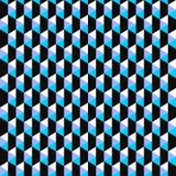 Σχέδιο μωσαϊκών χρώματος - διανυσματικό άνευ ραφής υπόβαθρο Στοκ Εικόνα