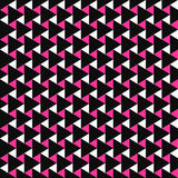 Σχέδιο μωσαϊκών χρώματος - διανυσματικό άνευ ραφής υπόβαθρο Στοκ φωτογραφίες με δικαίωμα ελεύθερης χρήσης