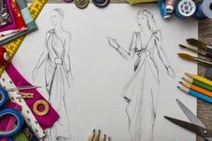 Σχέδιο μόδας Στοκ Φωτογραφία