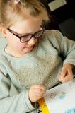 Σχέδιο νέων κοριτσιών Στοκ Εικόνα