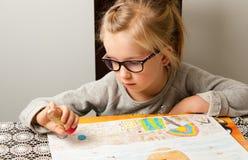 Σχέδιο νέων κοριτσιών Στοκ Εικόνες