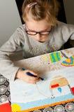 Σχέδιο νέων κοριτσιών Στοκ εικόνες με δικαίωμα ελεύθερης χρήσης