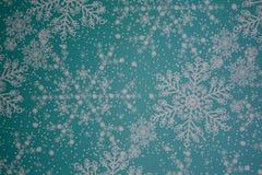 Σχέδιο νιφάδων χιονιού. Στοκ Εικόνα