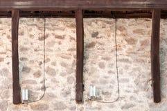 Σχέδιο ξυλειών και πετρών Στοκ εικόνα με δικαίωμα ελεύθερης χρήσης