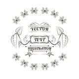 Σχέδιο λογότυπων εγκαταστάσεων, απεικόνιση Στοκ Εικόνες