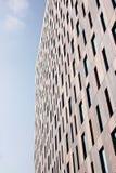 σχέδιο οικοδόμησης σύγχρ Στοκ Εικόνα