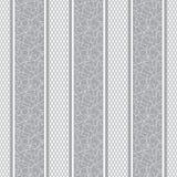 Σχέδιο λουρίδων με την άνευ ραφής ταπετσαρία υποβάθρου καρδιών Στοκ Φωτογραφίες