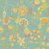 Σχέδιο λουλουδιών, άνευ ραφής σύσταση Στοκ Φωτογραφία