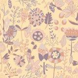 Σχέδιο λουλουδιών, άνευ ραφής σύσταση Στοκ εικόνα με δικαίωμα ελεύθερης χρήσης