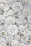 Σχέδιο λουλουδιών εγγράφου Στοκ εικόνα με δικαίωμα ελεύθερης χρήσης