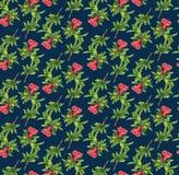 σχέδιο λουλουδιών ροδιών Στοκ φωτογραφία με δικαίωμα ελεύθερης χρήσης