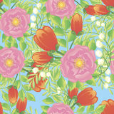 Σχέδιο λουλουδιών Στοκ Εικόνες