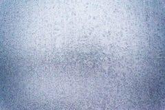 Σχέδιο πάγου στο γυαλί Στοκ εικόνα με δικαίωμα ελεύθερης χρήσης