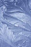 σχέδιο παγετού στο παράθυρο Στοκ Εικόνα