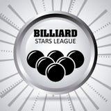 Σχέδιο παιχνιδιού μπιλιάρδου Στοκ Εικόνες