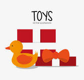 Σχέδιο παιχνιδιών και παιχνιδιών παπιών Στοκ Φωτογραφίες