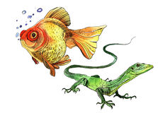 Σχέδιο πεταλούδων Watercolor απεικόνιση αποθεμάτων