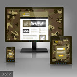 Σχέδιο προτύπων εφαρμογών Στοκ εικόνες με δικαίωμα ελεύθερης χρήσης