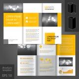 Σχέδιο προτύπων φυλλάδιων Στοκ φωτογραφίες με δικαίωμα ελεύθερης χρήσης