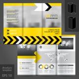 Σχέδιο προτύπων φυλλάδιων Στοκ φωτογραφία με δικαίωμα ελεύθερης χρήσης