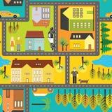 Σχέδιο πόλεων ελεύθερη απεικόνιση δικαιώματος
