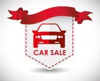 Σχέδιο πώλησης αυτοκινήτων Στοκ εικόνες με δικαίωμα ελεύθερης χρήσης