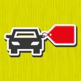 Σχέδιο πώλησης αυτοκινήτων Στοκ εικόνα με δικαίωμα ελεύθερης χρήσης
