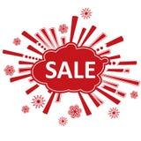 Σχέδιο πώλησης Χριστουγέννων Στοκ Εικόνες