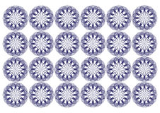 Σχέδιο πλέγματος λουλουδιών απεικόνιση αποθεμάτων