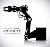 Σχέδιο ρομπότ Στοκ φωτογραφίες με δικαίωμα ελεύθερης χρήσης