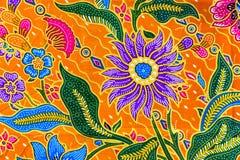 Σχέδιο σαρόγκ μπατίκ, παραδοσιακά σαρόγκ μπατίκ σε Ασιάτη Στοκ φωτογραφίες με δικαίωμα ελεύθερης χρήσης
