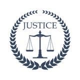 Σχέδιο σημαδιών γραφείων εταιριών και δικηγόρων νόμου διανυσματική απεικόνιση