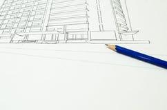 Σχέδιο σκίτσων στοκ φωτογραφία με δικαίωμα ελεύθερης χρήσης