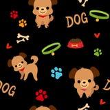 Σχέδιο σκυλιών Στοκ Εικόνες