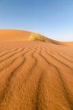 Σχέδιο στην άμμο, Erg Chebbi, Μαρόκο ερήμων Στοκ εικόνα με δικαίωμα ελεύθερης χρήσης
