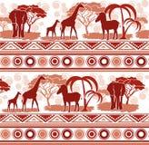Σχέδιο στο αφρικανικό ύφος Στοκ Φωτογραφία