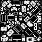 Σχέδιο συσκευών και συσκευών Ελεύθερη απεικόνιση δικαιώματος