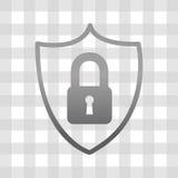 Σχέδιο συστημάτων ασφαλείας διανυσματική απεικόνιση