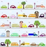 Σχέδιο σχεδίων οχημάτων μωρών Στοκ Φωτογραφία
