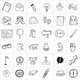 Σχέδιο σχολικού Doodle Στοκ φωτογραφίες με δικαίωμα ελεύθερης χρήσης