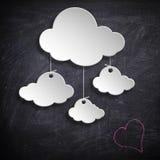 Σχέδιο σύννεφων Στοκ Φωτογραφίες