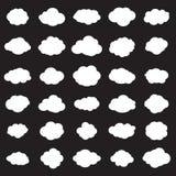 Σχέδιο σύννεφων ελεύθερη απεικόνιση δικαιώματος